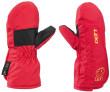 dětské lyžařské rukavičkyLeki Smiley Kids Mitten - červená
