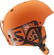 Lyžařská helma Salomon Brigade oranžová