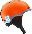 lyžařská helma salomon L37773400_GROM_fluo_orange