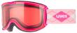 lyžařské brýle uvex skyper pink