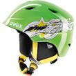 junioská lyžařská helma Uvex Airwing 2 zelen