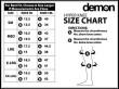 Demon Dirt DS5125 Hyper Knee X D3O - černá
