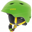 juniorská lyžařská helma Uvex Airwing 2 Pro - zelená