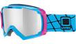 lyžařské brýle UVEX APACHE 2 modrá
