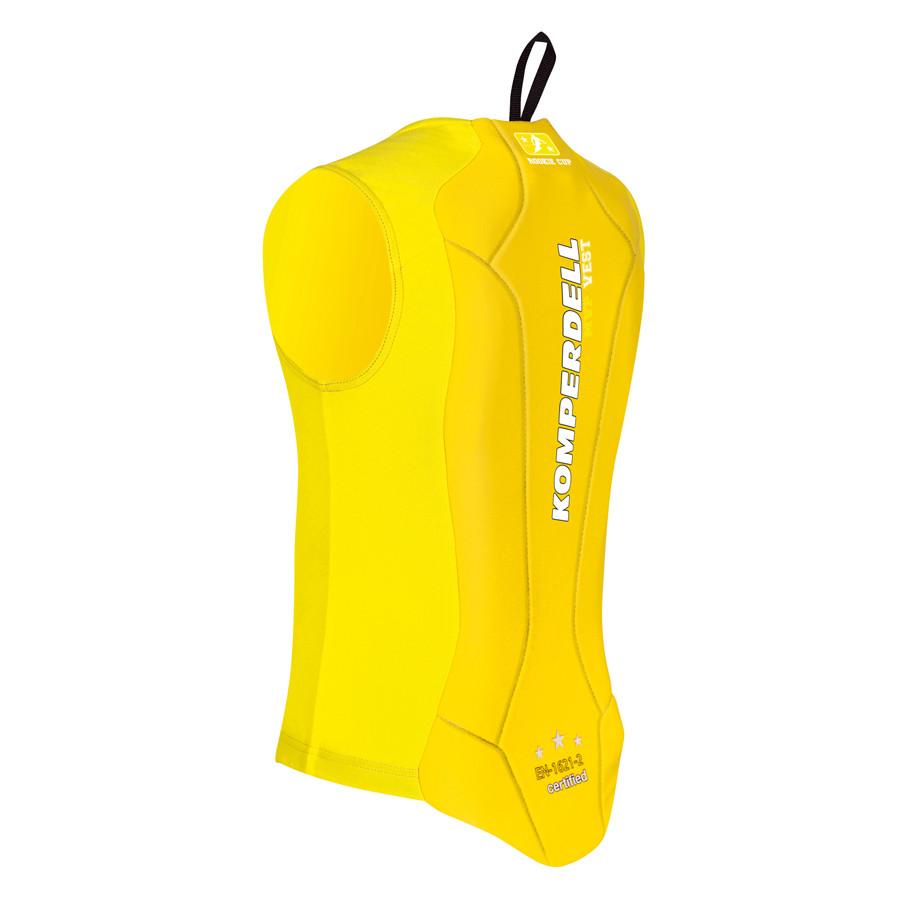 Komperdell Junior Eco Vest - žlutá Velikost chrániče: 128 2018/2019