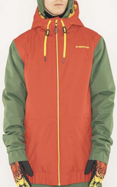 Armada Baxter Insulated Jacket - red chili Velikost oblečení: XL