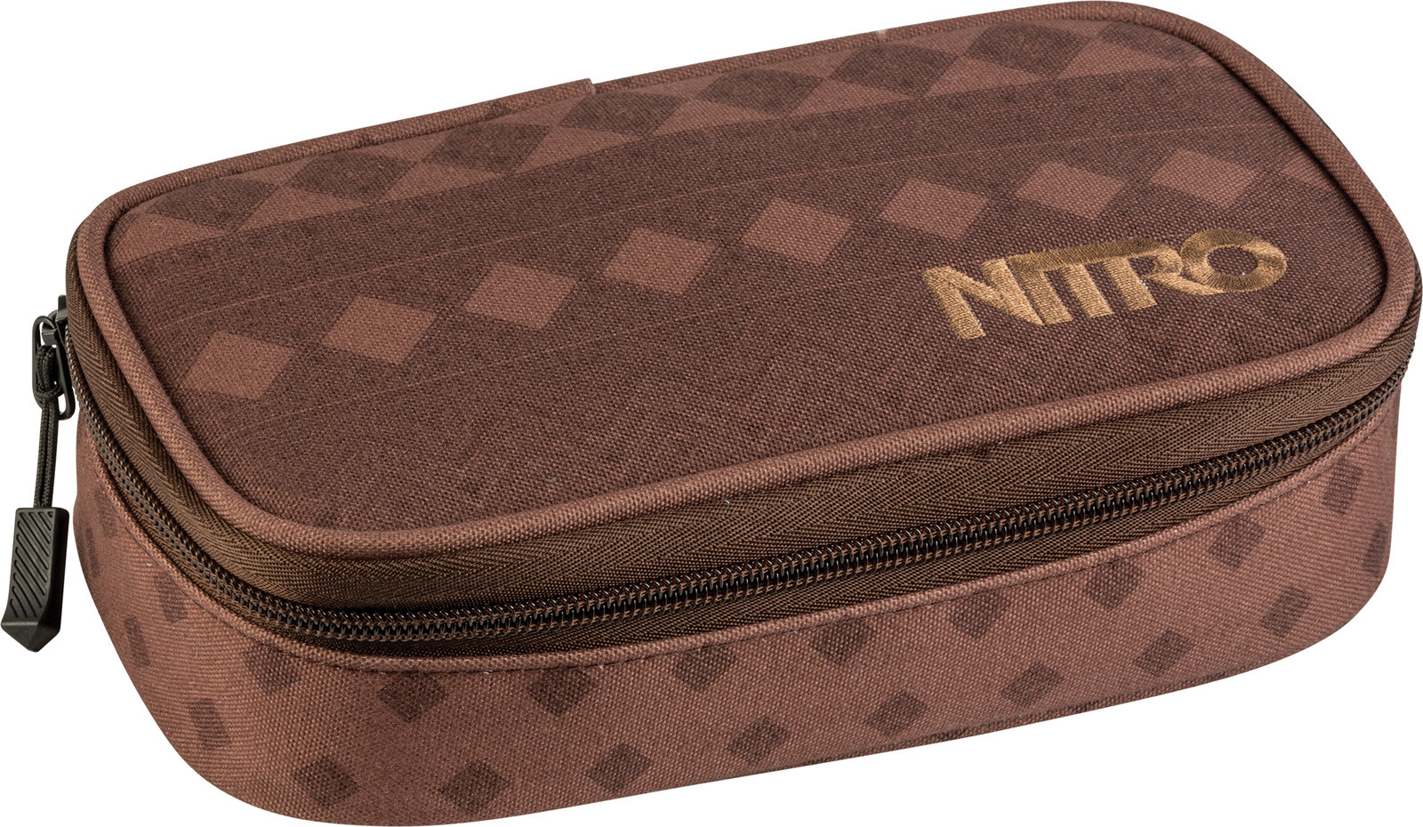 Nitro Pencil Case XL - hnědá