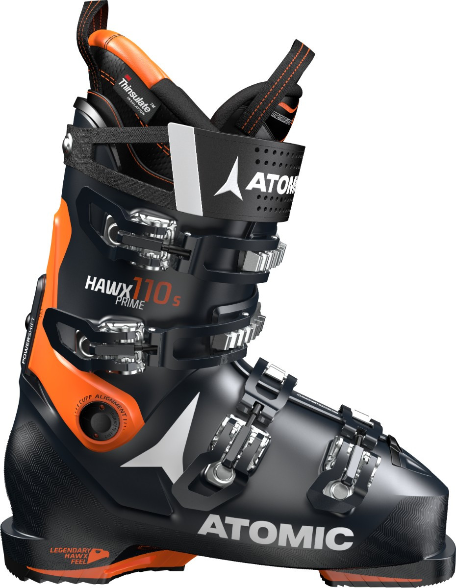 Atomic Hawx Prime 110 S - černá/oranžová Délka chodidla v cm: 24.0/24.5 2019/2020