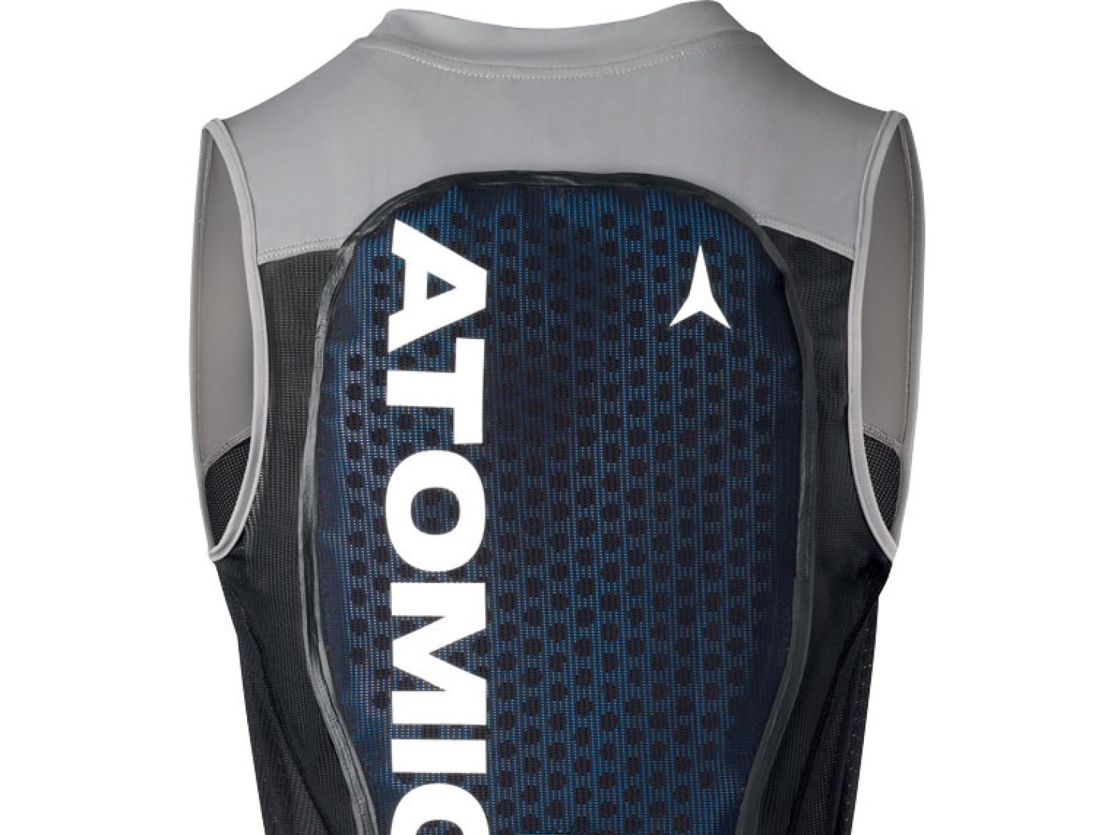 Atomic Live Shield Vest Amid M - šedá/černá Velikost chrániče: XL 2019/2020