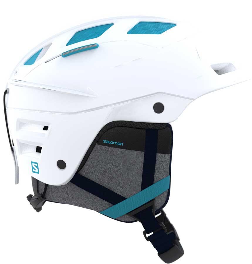 Salomon QST Charge W - bílá Velikost helmy: M 2017/2018
