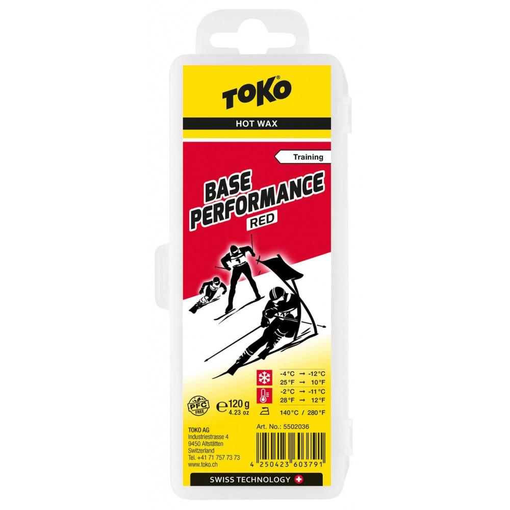 TOKO Base Performance Red 120g, červený parafín (NF) 2019/2020