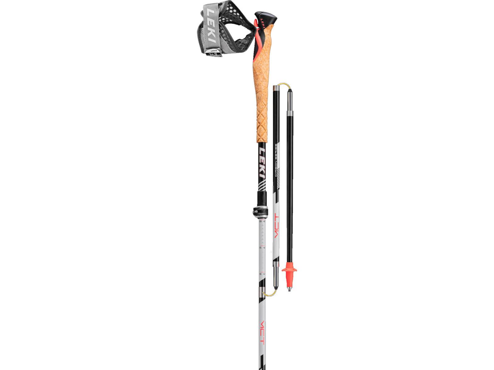 Leki MCT 12 Vario Carbon Délka nastavitelných hůlek: 110-130 cm 2020/2021