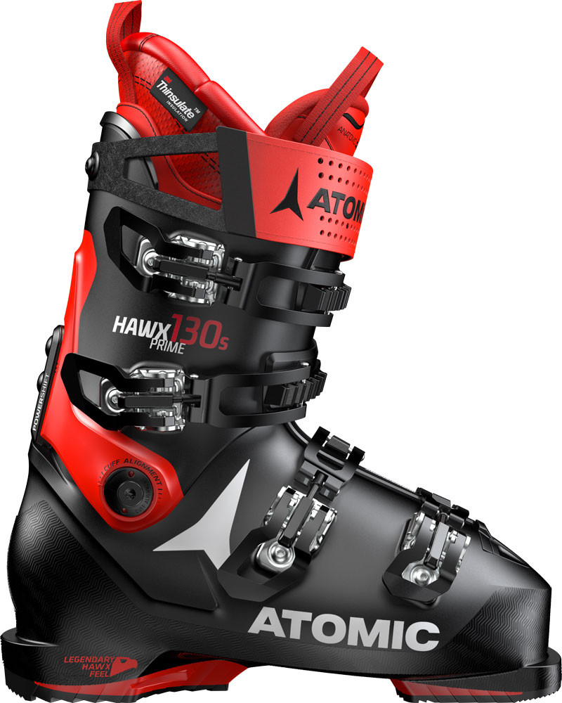 Atomic Hawx Prime 130 S - černá/červená Délka chodidla v cm: 24.0/24.5 2019/2020