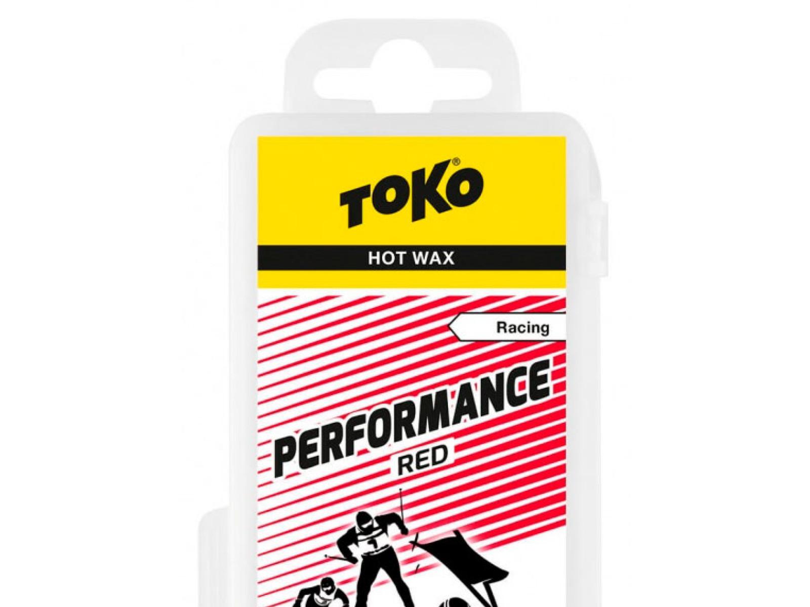 TOKO Performance Red 120g, červený parafín (LF) 2019/2020