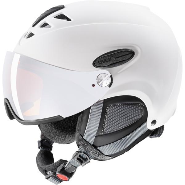 Uvex Hlmt 300 Visor - bílá Velikost helmy: L/XL 2018/2019