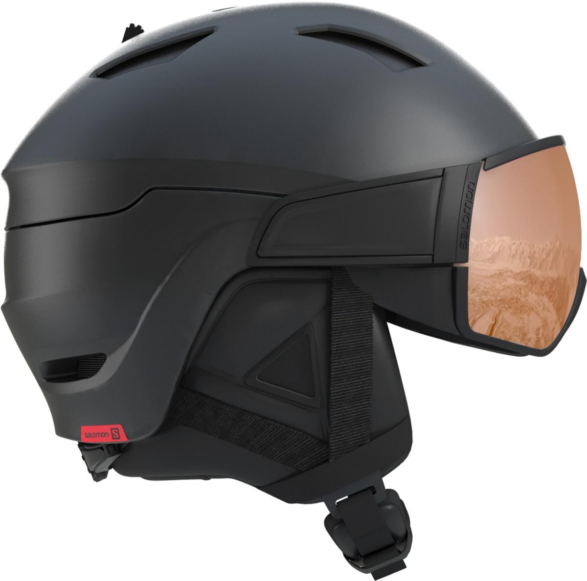Salomon Driver S - černá Velikost helmy: S 2019/2020