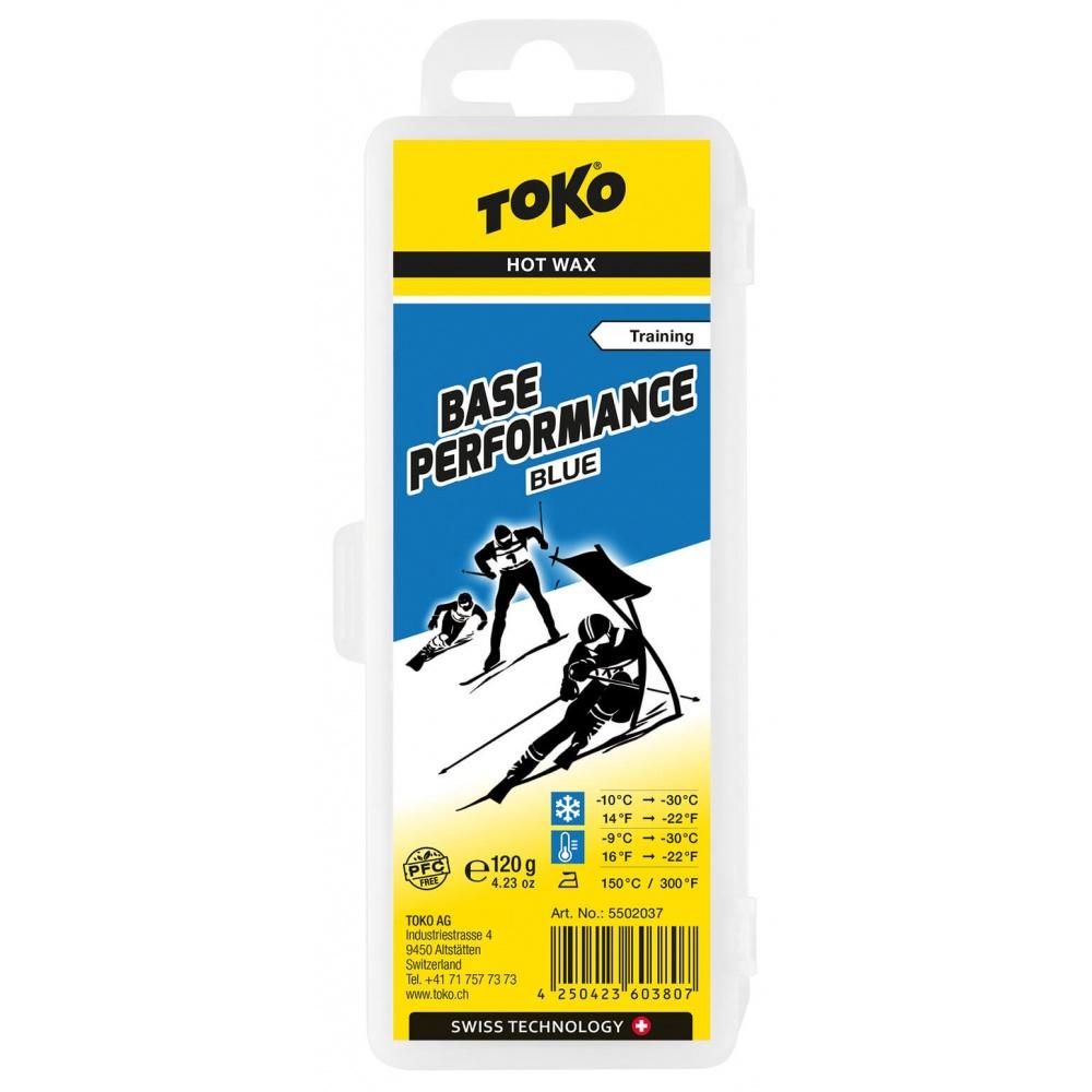 TOKO Base Performance Blue 120g, modrý parafín (NF) 2019/2020