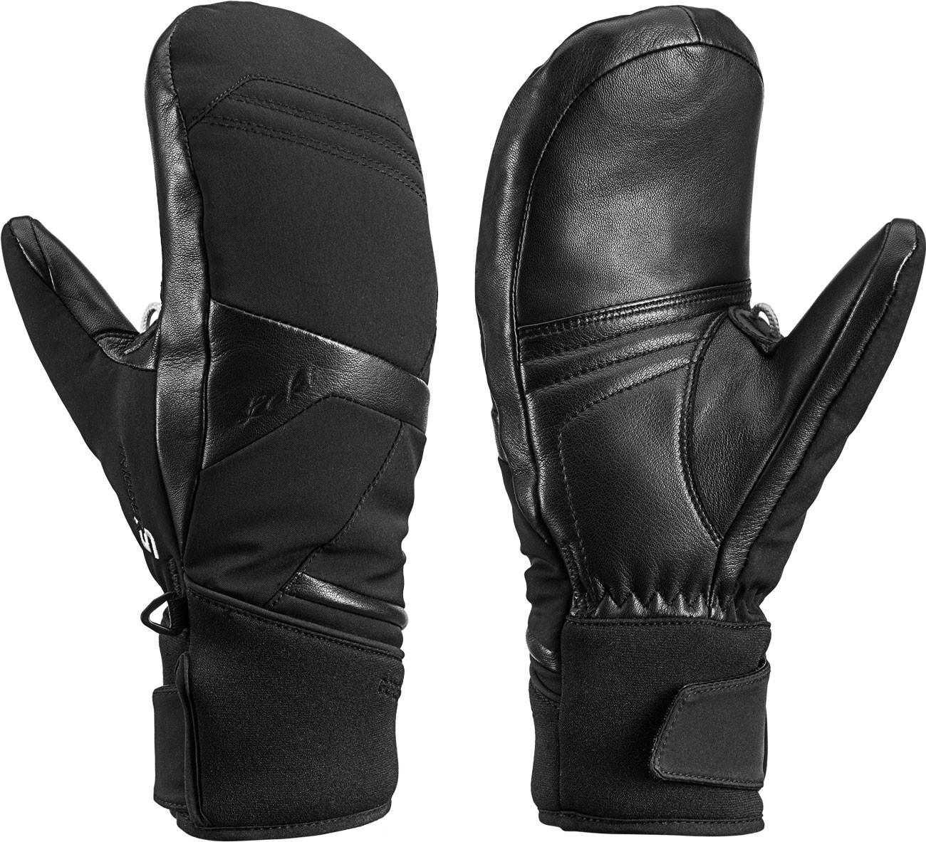 Leki Equip S GTX Lady Mitt - černá Velikost rukavic: 6.5 2019/2020
