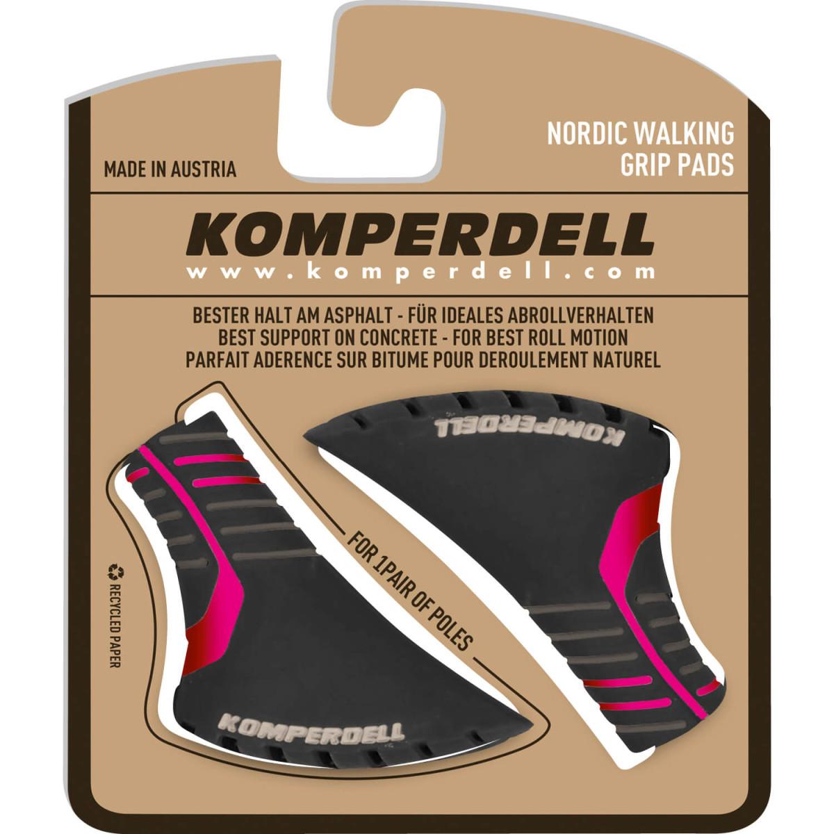 Komperdell botičky na hole Nordic Walking - červená