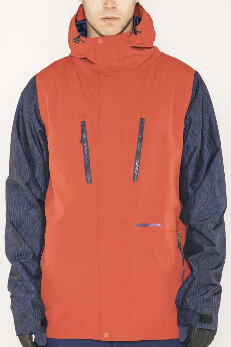 Armada Aspect Jacket - red chili Velikost oblečení: XL