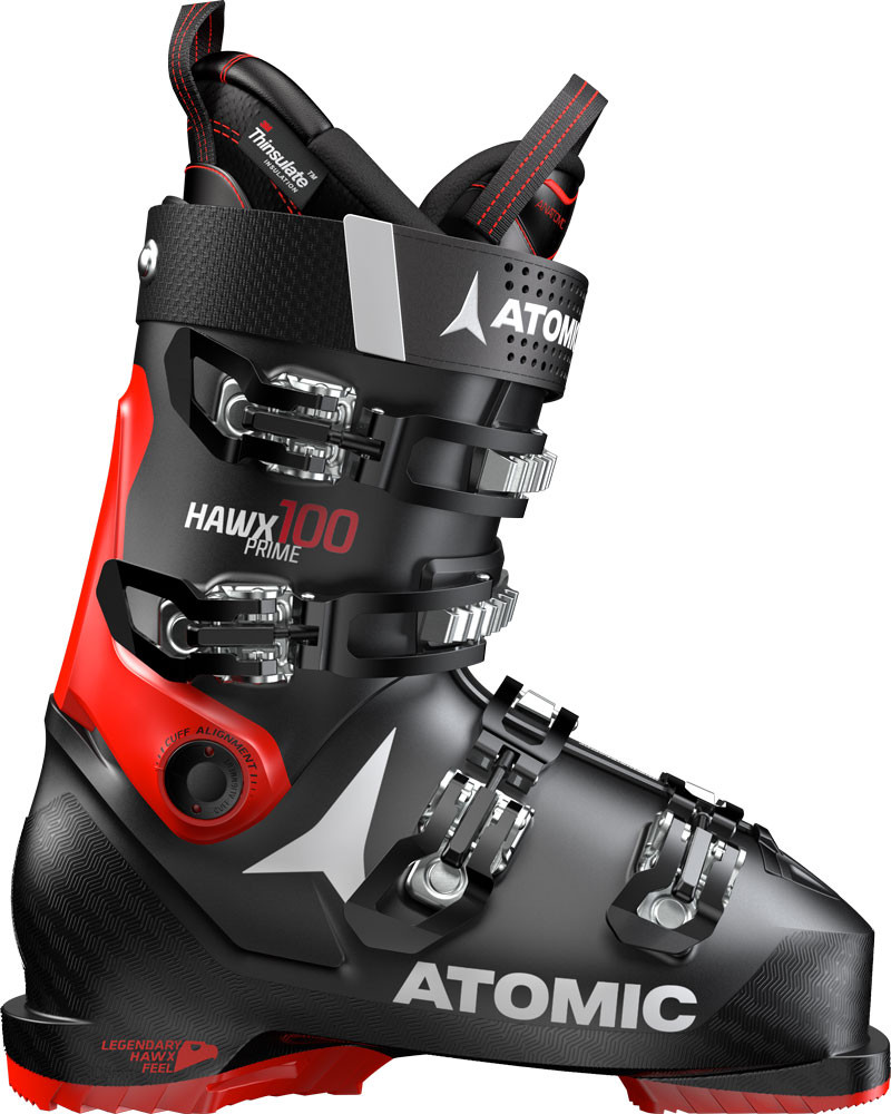 Atomic Hawx Prime 100 - černá/červená Délka chodidla v cm: 26.0/26.5 2019/2020