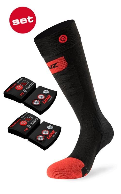 Lenz Heat Socks 5.0 Toe Cap Velikost ponožek: 35-38