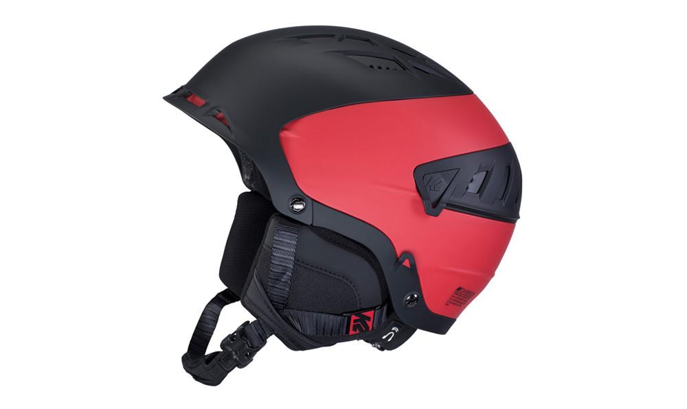 K2 Diversion - černá/červená Velikost helmy: S 2019/2020