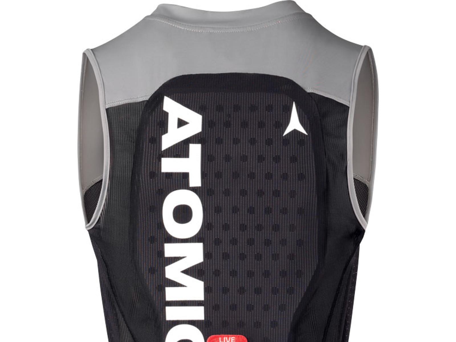 Atomic Live Shield Vest M - černá/šedá Velikost chrániče: S 2019/2020
