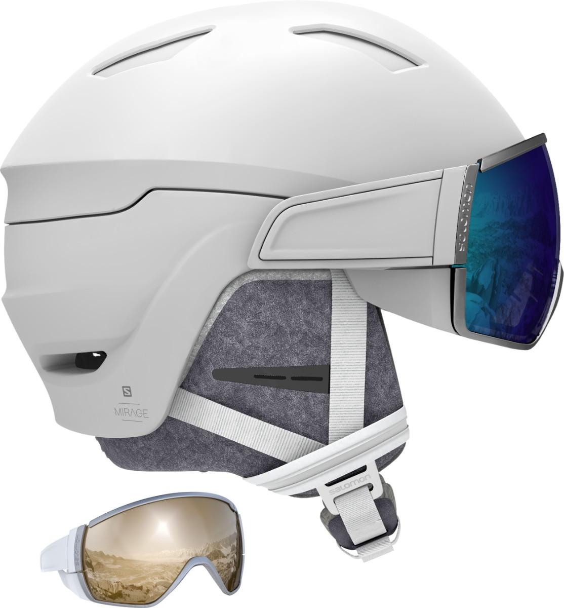 Salomon Mirage - bílá Velikost helmy: S 2019/2020