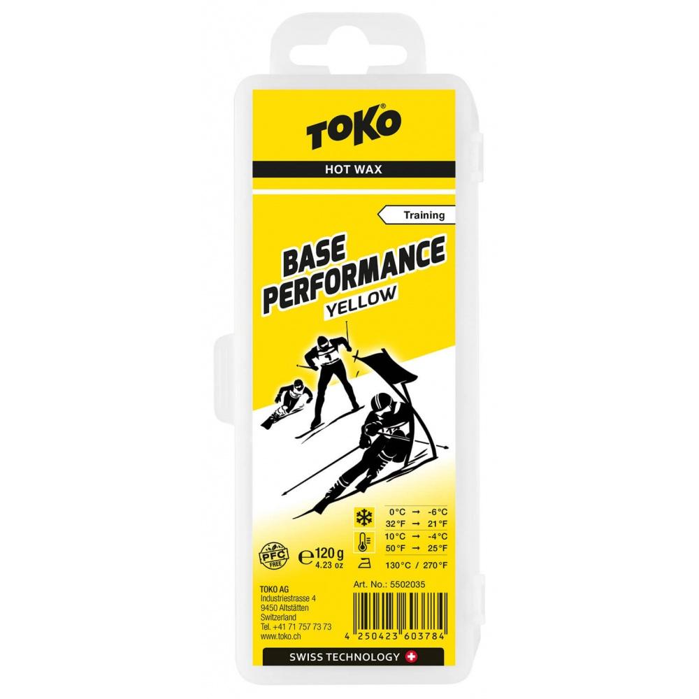 TOKO Base Performance Yellow 120g, žlutý parafín (NF) 2019/2020