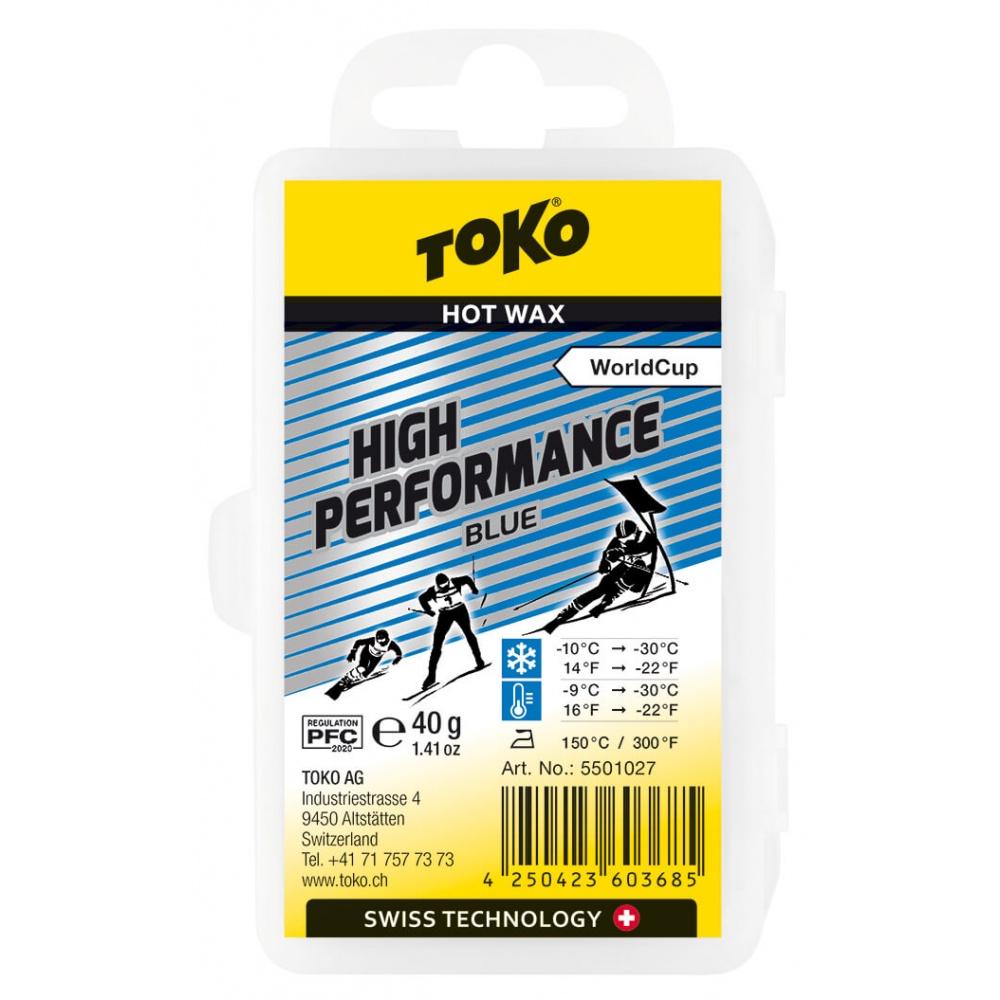 TOKO High Performance Hot Wax Blue - 40g