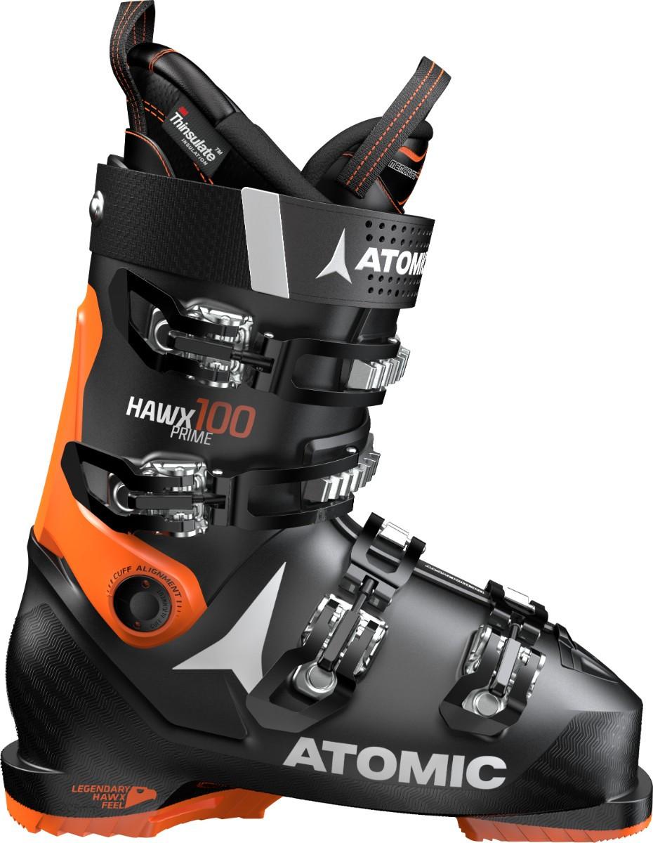 Atomic Hawx Prime 100 - černá/oranžová Délka chodidla v cm: 25.0/25.5 2019/2020