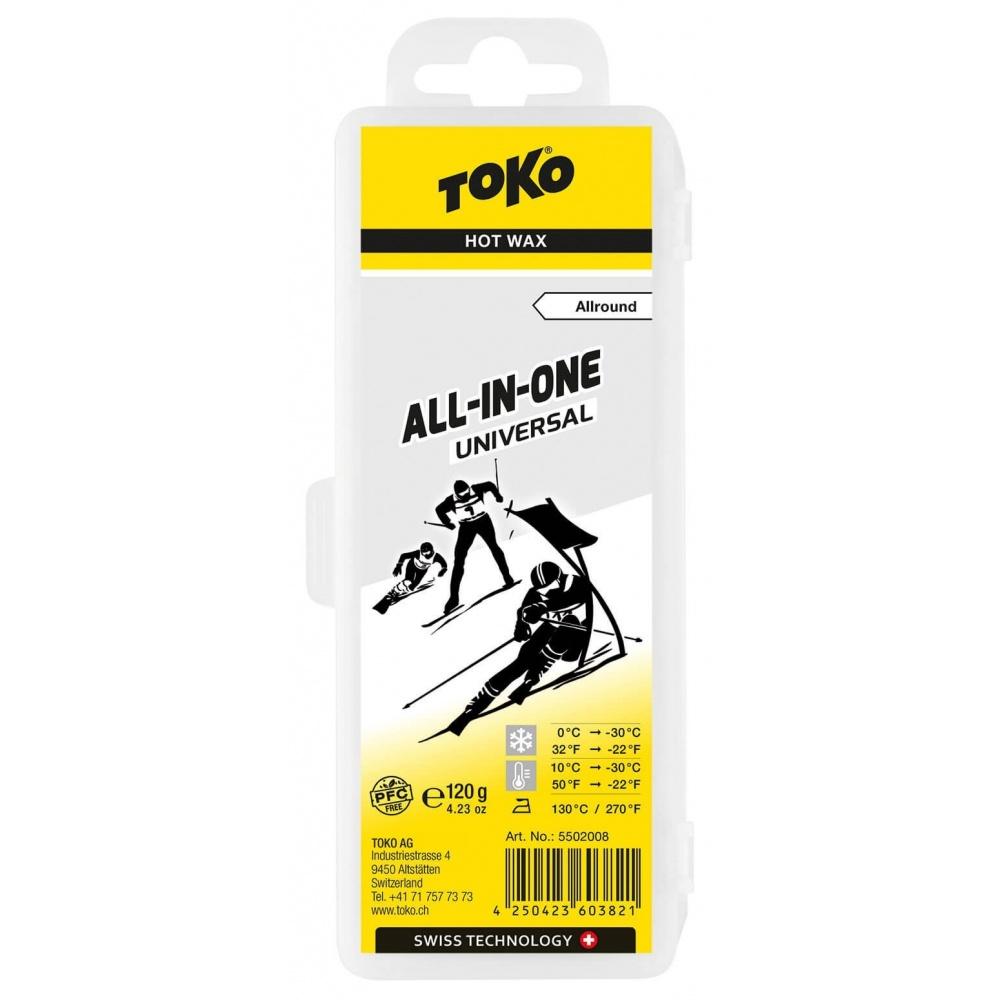TOKO All-in-one universal 120g, universální parafín 2019/2020