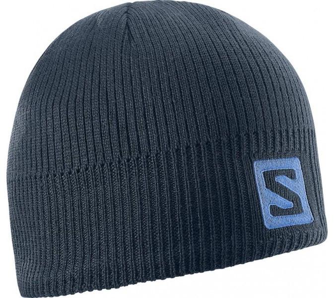 Salomon Logo Beanie Big Blue-X