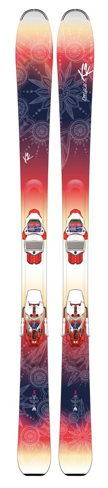 K2 OoolaLuv 85 Ti + ERC 11 TC Q - testovací lyže
