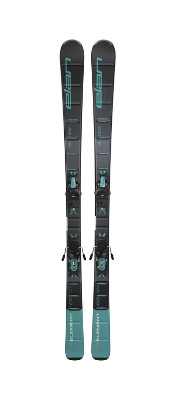 Dámskésjezdové lyžeElan Element Black Blue LS