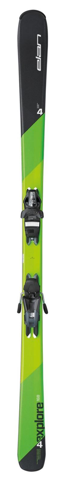 Rekreační sjezdové lyže Elan Explore 4 Plate