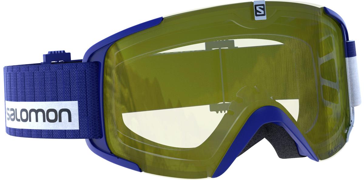 Salomon X View Access - modrá/žlutá