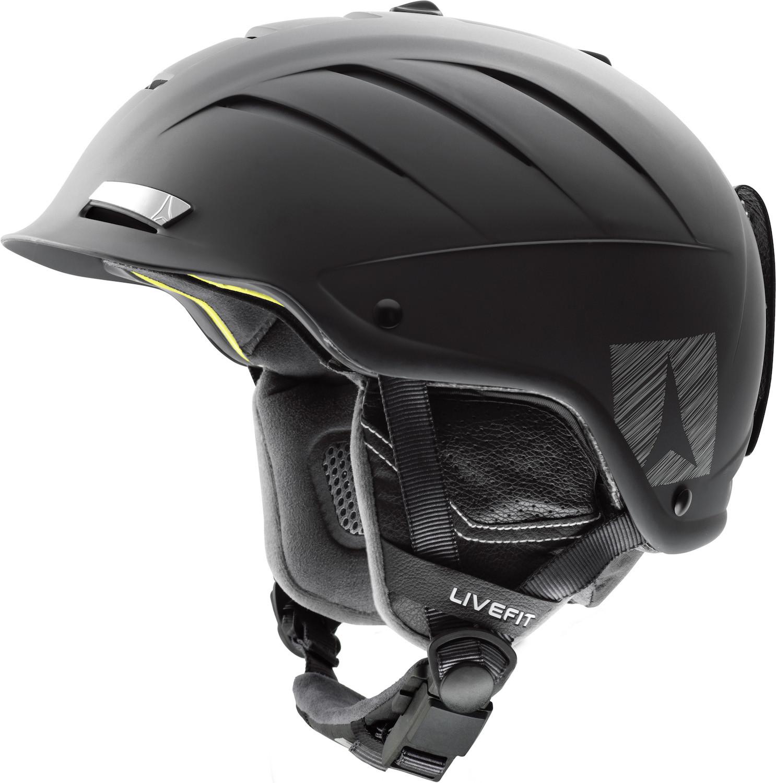 lyžařská helma atomic_NOMAD_LF_jpgčerná