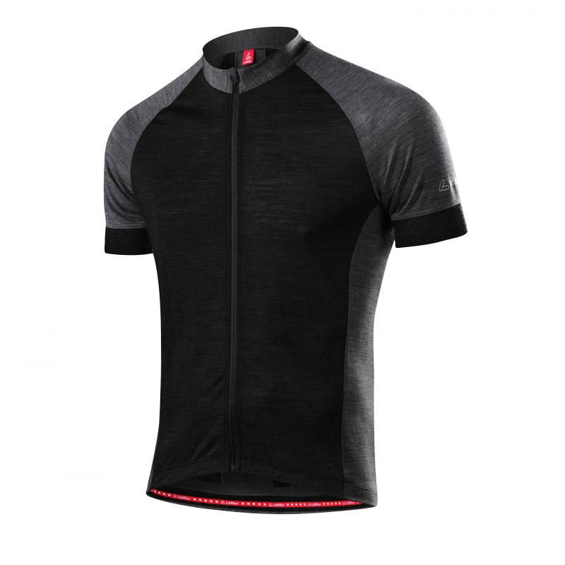 Löffler Pánský cyklistický dres Urban Merino černá