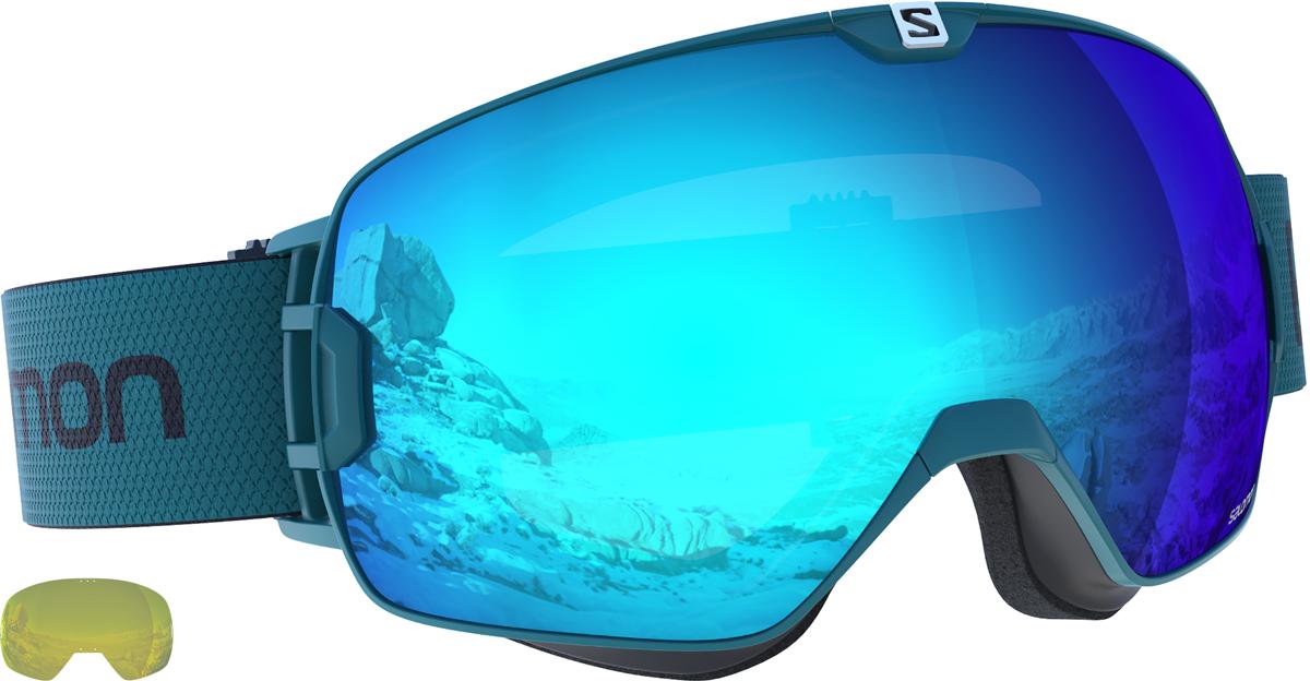 Salomon X Max - zelená/modrá