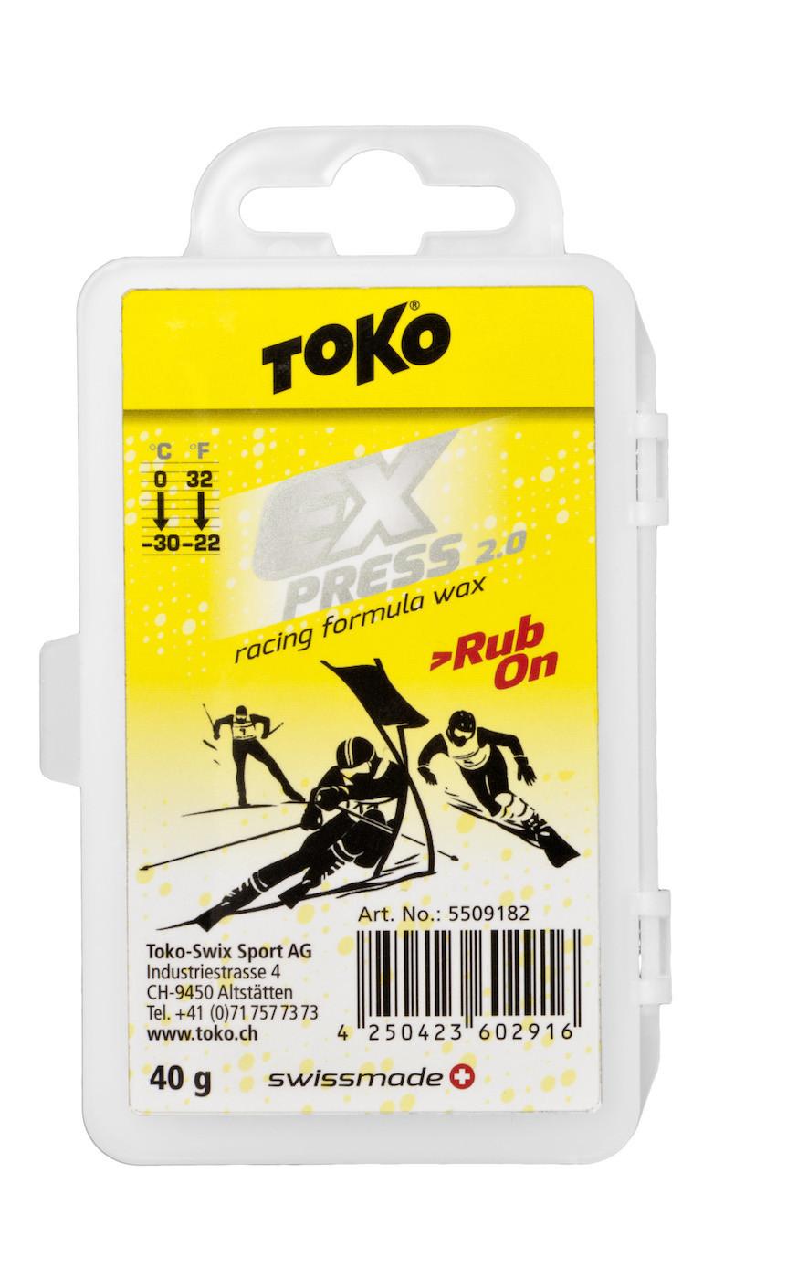 toko vosk Express Racing Rub On 40g