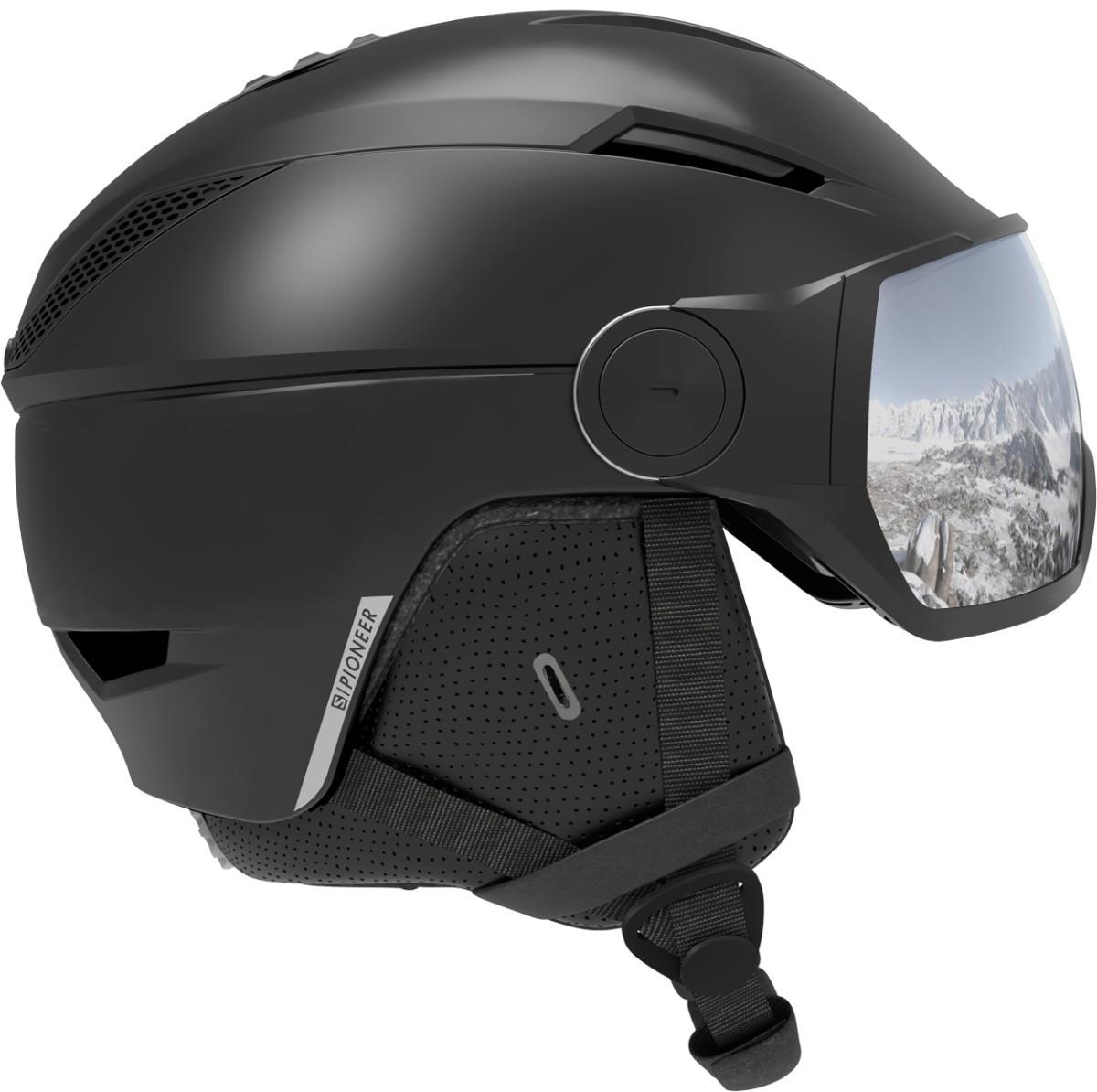 lyžařská helma Salomon Pioneer Visor