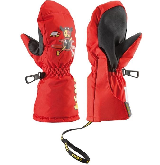 dětské lyžařské rukavice Leki Little Pilot Mitt – červená » LyzeLyze.cz e01dc5355f
