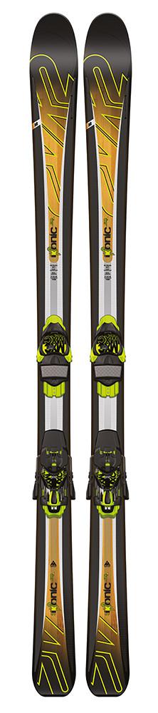 K2 iKonic 80 Ti + MXC 12 TC Q - testovací lyže