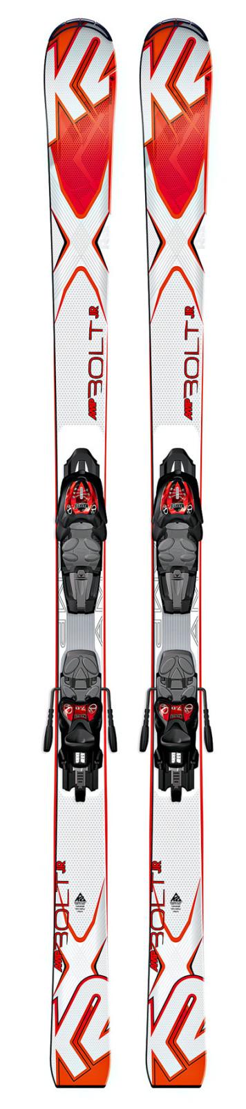 K2 Bolt Jr + Fastrak2 7 - testovací lyže