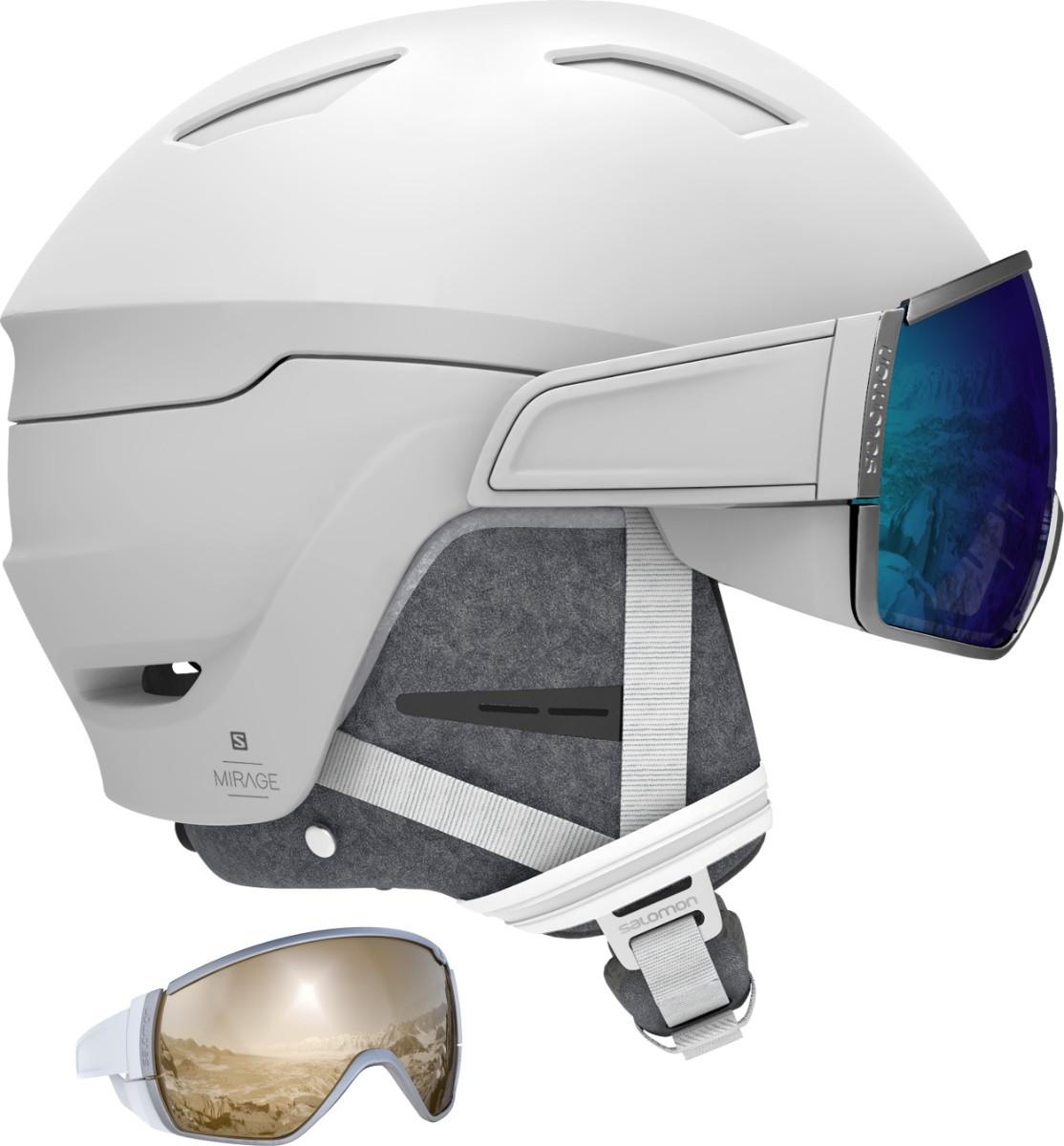 dámská lyžařská helma Salomon Mirage CA