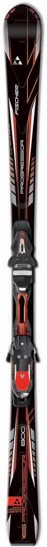 lyže Fischer Progressor 800 Powerrail Black