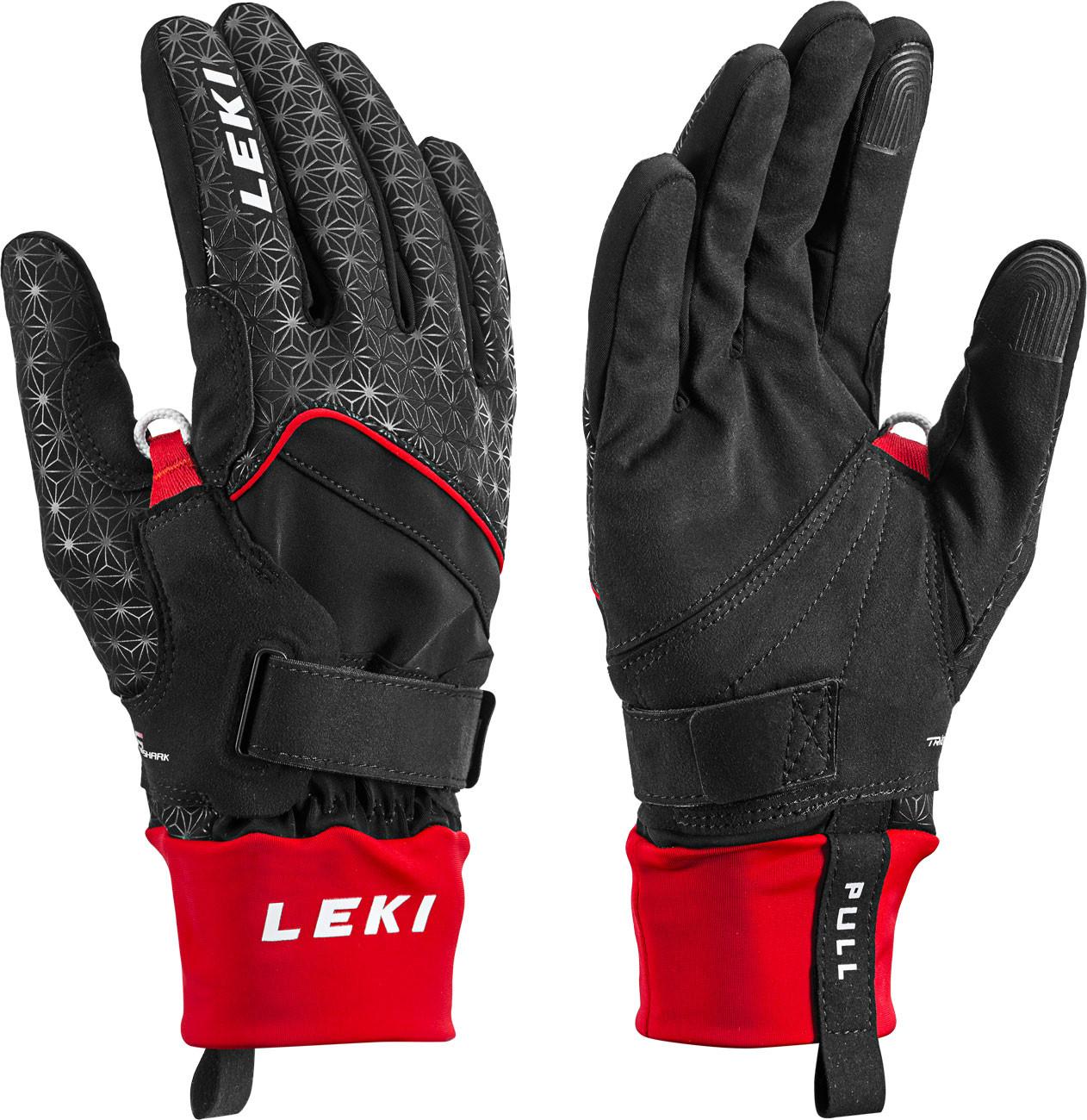 pánské běžecké rukavice Leki Nordic Circuit Shark
