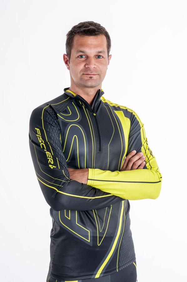 Fischer Závodní dres DRAMMEN Žlutá